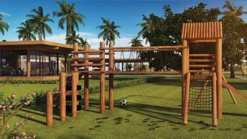 Playground que as crianças vão adorar